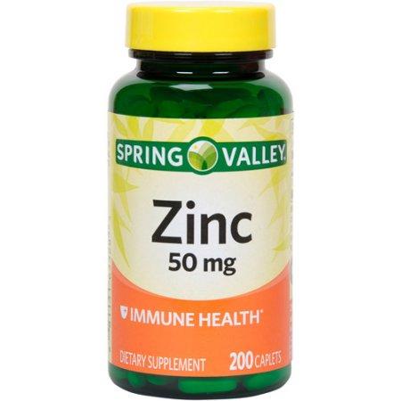 ZINC SPRING VALLEY 50 Mg