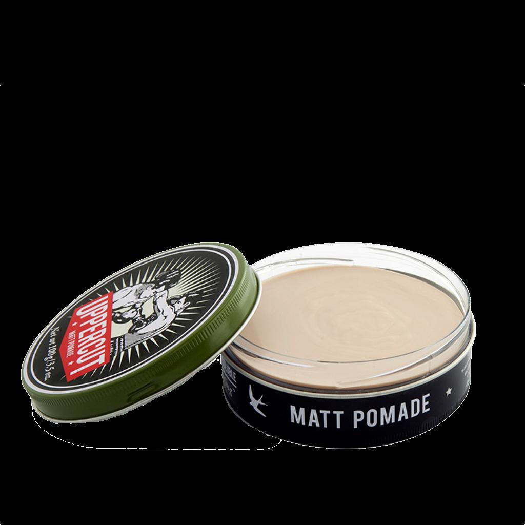 Uppercut Deluxe Matte Pomade Cera Para Cabello 3.5 oz